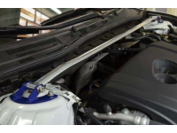 Add CorkSport's front strut tower bar to your Mazda 3 or Mazda 6 2014 to increase handling.