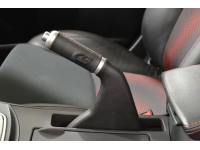 Step up your game with the CorkSport Leather Parking Brake Handle.