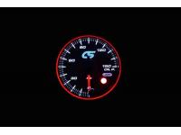 White face Mazdaspeed oil pressure gauge.
