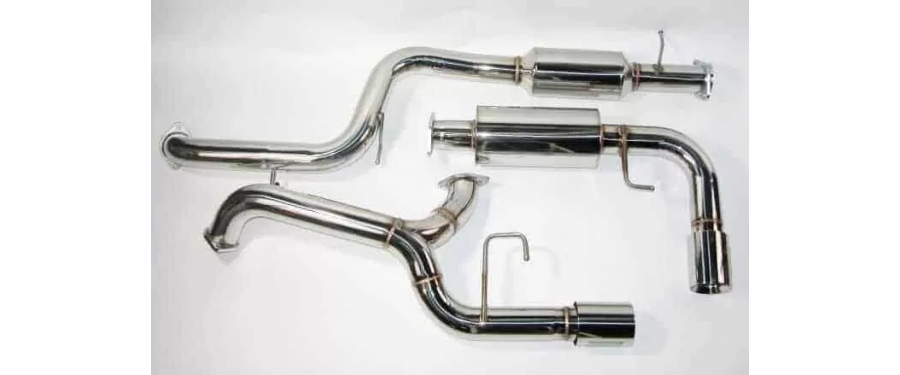 Mazdaspeed 3 Catback Exhaust resonated parts