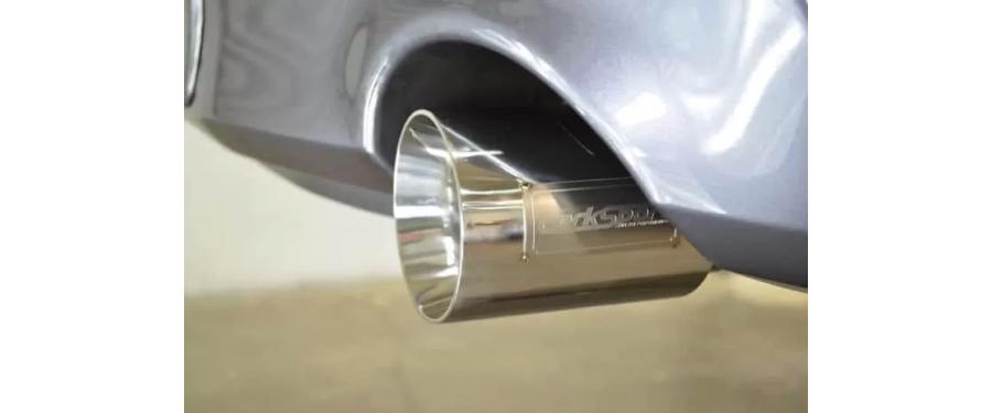Mazdaspeed 3 Catback Exhaust resonated tip