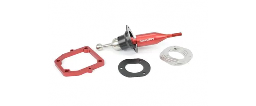 Adjustable pre-load so the shifting resistance can be tailored to your preference.
