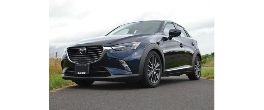 The CorkSport lowering springs for the CX-3 deliver a better center of gravity for improved handling.
