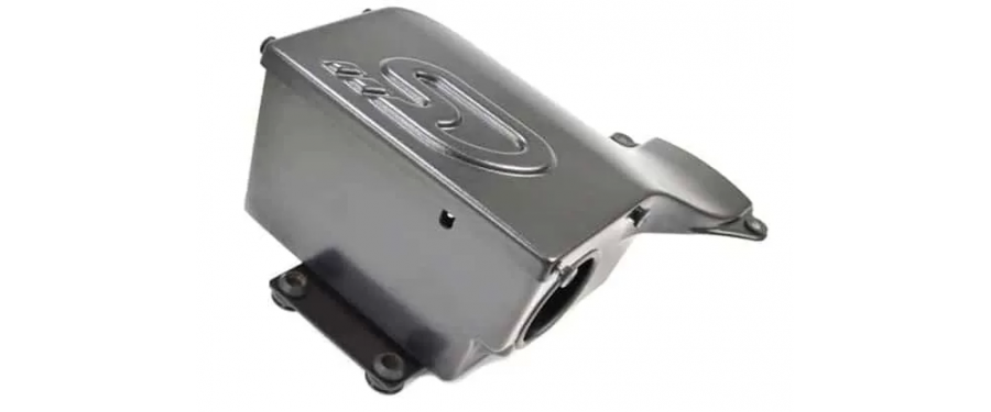 Using OEM rubber isolators and mounts allows the box to flex with the engine's normal movement.