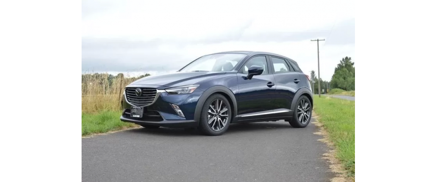 The CorkSport Lowering Springs for the 2016+ CX-3 get rid of the excessive wheel gap on the CX-3.
