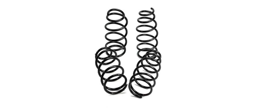 "The CorkSport Sport Springs provide a drop of 1.6"" Front and 1.1"" Rear. This provides an aggressive look without worrying about every speedbump and parking lot entrance."