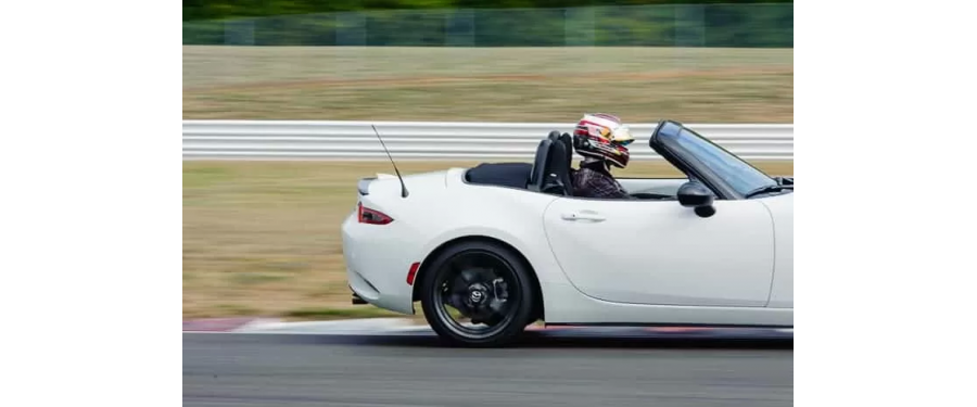 Multiple spring rates were tested at Portland International Raceway to determine the best spring rate and front/rear combination that enhances the MX-5's driving experience while maintaining a comfortable daily driver.